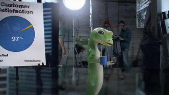 GEICO TV Spot, 'Behind the Scenes' - 3446 commercial airings
