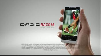 Motorola Droid Razr M TV Spot, 'Missing the Game'  - Thumbnail 8