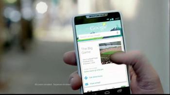 Motorola Droid Razr M TV Spot, 'Missing the Game'  - Thumbnail 2