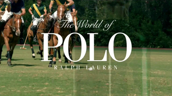 Ralph Lauren TV Spot, \'The World of Polo\'