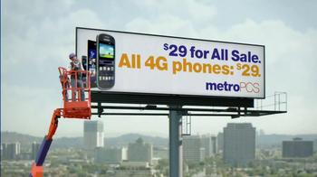 MetroPCS $29 For All Sale TV Spot, 'Billboard' - Thumbnail 10