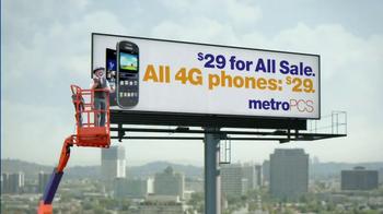 MetroPCS $29 For All Sale TV Spot, 'Billboard' - Thumbnail 4