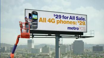 MetroPCS $29 For All Sale TV Spot, 'Billboard' - Thumbnail 5
