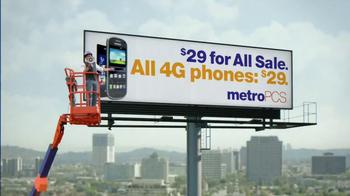 MetroPCS $29 For All Sale TV Spot, 'Billboard' - Thumbnail 7
