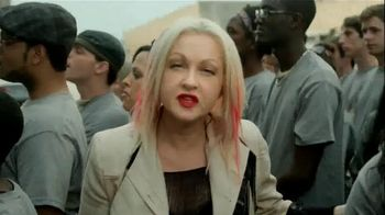 Forty to None Project TV Spot, Featuring Cyndi Lauper