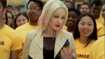 Forty to None Project TV Spot, Featuring Cyndi Lauper - Thumbnail 9
