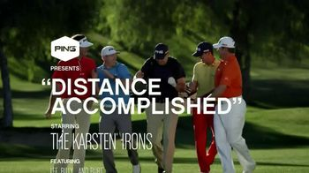 Ping Karsten Irons TV Spot, 'Distance Accomplished' Featuring Lee Westwood