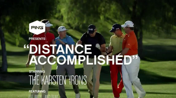 Ping Karsten Irons TV Spot, 'Distance Accomplished' Featuring Lee Westwood - 136 commercial airings