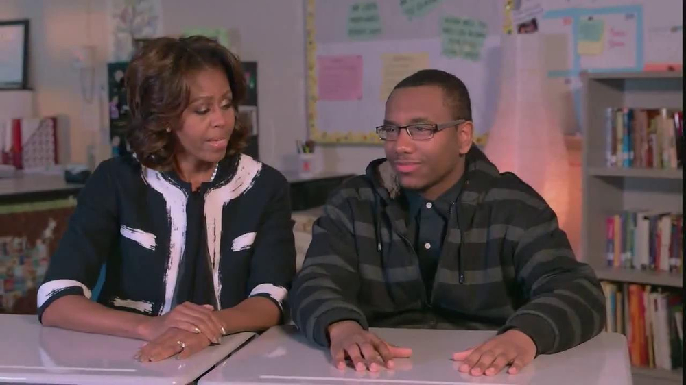 Get Schooled TV Commercial, 'FAFSA' Feat. Michelle Obama