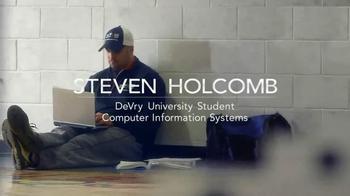 DeVry University TV Spot Featuring Steven Holocomb - Thumbnail 2