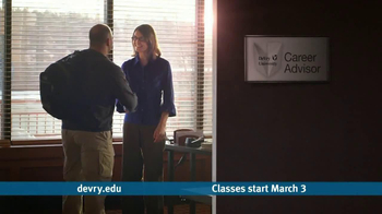 DeVry University TV Spot Featuring Steven Holocomb - Thumbnail 5