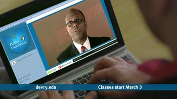 DeVry University TV Spot Featuring Steven Holocomb - Thumbnail 6