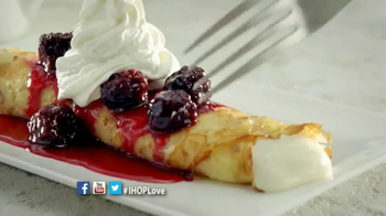 IHOP TV Spot, 'Sweet Cream Cheese Crepes' - Thumbnail 4