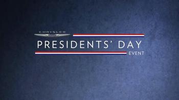 Chrysler Presidents Day Event TV Spot, 'Dwight D. Eisenhower' - Thumbnail 1