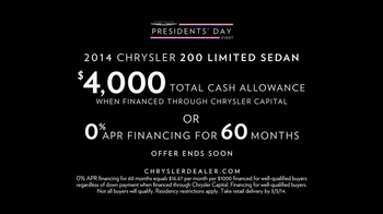Chrysler Presidents Day Event TV Spot, 'Dwight D. Eisenhower' - Thumbnail 10