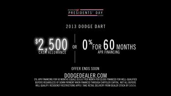 Dodge TV Spot, 'President's Day Event' - Thumbnail 10