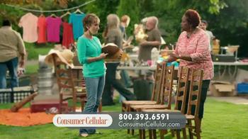 Consumer Cellular TV Spot, 'Yard Sale: Plans $10+ a Month' - Thumbnail 3