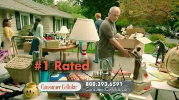 Consumer Cellular TV Spot, 'Yard Sale: Plans $10+ a Month' - Thumbnail 6