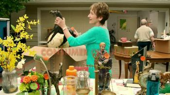 Consumer Cellular TV Spot, 'Yard Sale: Plans $10+ a Month' - 2215 commercial airings