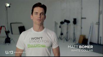 USA Characters Unite TV Spot Featuring Matt Bomer
