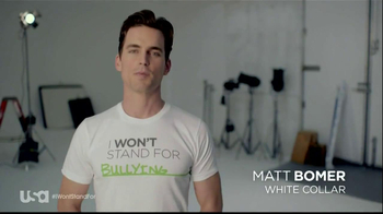 USA Characters Unite TV Spot Featuring Matt Bomer - Thumbnail 1