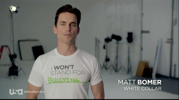 USA Characters Unite TV Spot Featuring Matt Bomer