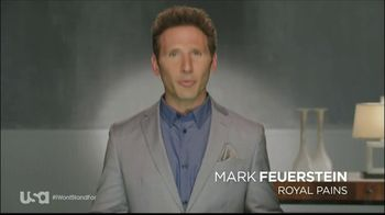 USA Characters Unite TV Spot Featuring Mark Feuerstein