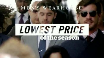Men's Wearhouse TV Spot, 'Lowest Prices of the Season' - 176 commercial airings