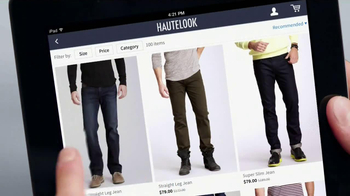 HauteLook TV Spot, 'Look of the Week' - Thumbnail 7