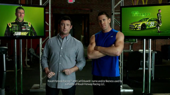 Subway TV Spot, 'Loudness Simulator' Featuring Carl Edwards - 32 commercial airings