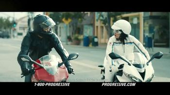 Progressive Motorcycle TV Spot, 'Flo Rides' - 12988 commercial airings
