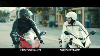Progressive Motorcycle TV Spot, 'Flo Rides' - 12986 commercial airings