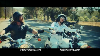 Progressive Motorcycle TV Spot, 'Flo Rides' - Thumbnail 5