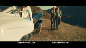 Progressive Motorcycle TV Spot, 'Flo Rides' - Thumbnail 9