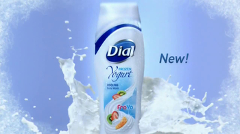 Dial Frozen Yogurt Body Wash TV Spot, 'Cooling'