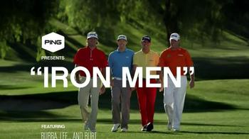 Ping Golf Karsten i25 TV Spot, 'Iron Men' Feat Bubba Watson, Lee Westwood - Thumbnail 1