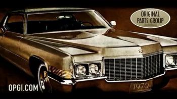OPGI Original Parts Group Inc TV Spot, 'Cadillac, Free Catalog'