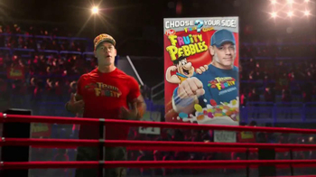 Fruity Pebbles TV Spot, 'Pick Your Pebbles: Fruity' Featuring John Cena - Thumbnail 2