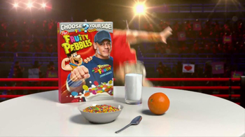 Fruity Pebbles TV Spot, 'Pick Your Pebbles: Fruity' Featuring John Cena - Thumbnail 5
