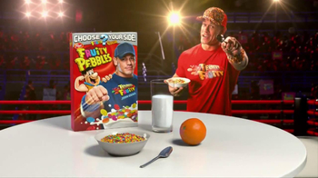 Fruity Pebbles TV Spot, 'Pick Your Pebbles: Fruity' Featuring John Cena - 785 commercial airings
