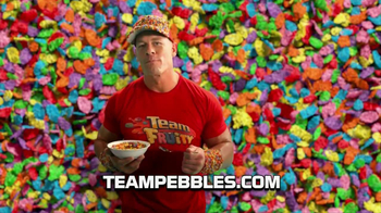 Fruity Pebbles TV Spot, 'Pick Your Pebbles: Fruity' Featuring John Cena - Thumbnail 9