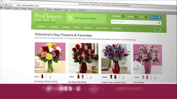 ProFlowers TV Spot 'Valentine's Day' - Thumbnail 2