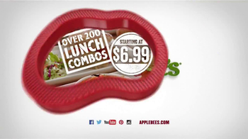 Applebee's Lunch Combos TV Spot, 'Productivity Quality Not Guaranteed' - Thumbnail 10