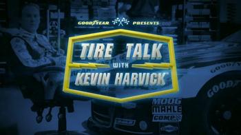 Goodyear TV Spot, 'Tire Talk: 3000 Rotations' Featuring Kevin Harvick - Thumbnail 1