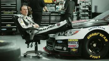 Goodyear TV Spot, 'Tire Talk: 3000 Rotations' Featuring Kevin Harvick - Thumbnail 4