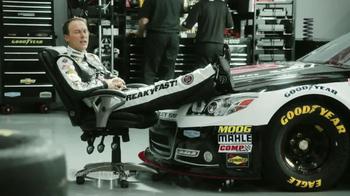 Goodyear TV Spot, 'Tire Talk: 3000 Rotations' Featuring Kevin Harvick - Thumbnail 5