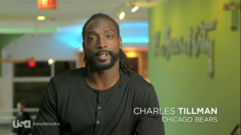 USA Network TV Spot, 'I Wont Stand For' Featuring Charles Tillman - Thumbnail 3