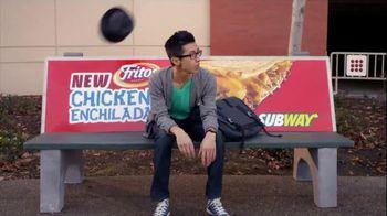 Subway Fritos Chicken Enchilada Melt TV Spot, 'Crunch a Munch a'