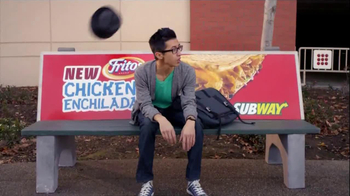 Subway Fritos Chicken Enchilada Melt TV Spot, 'Crunch a Munch a'