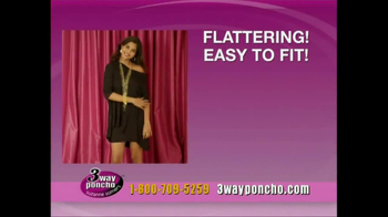 3-Way Poncho TV Spot Featuring Suzanne Somers - Thumbnail 10